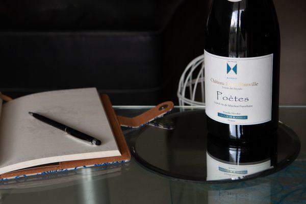 Poètes, vin parcellaire de Château Haut-Blanville