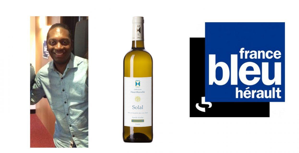 Solal présenté sur France Bleu avec Stéphane Pâté