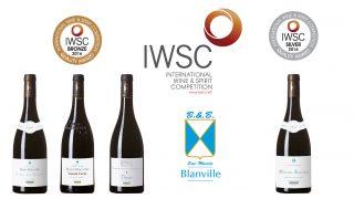 IWSC médailles