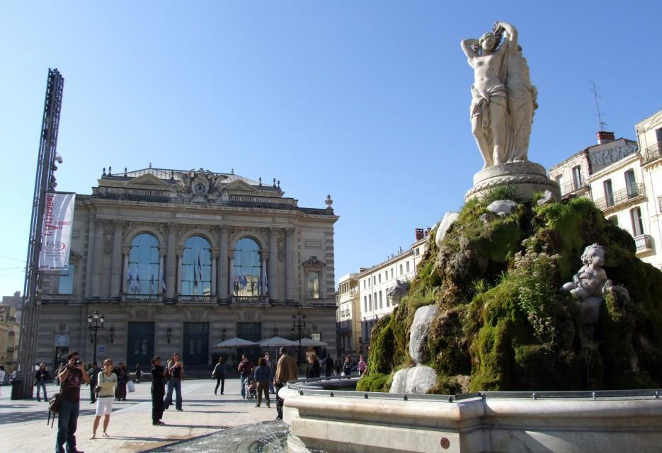 Montpellier: ville emblématique du Languedoc