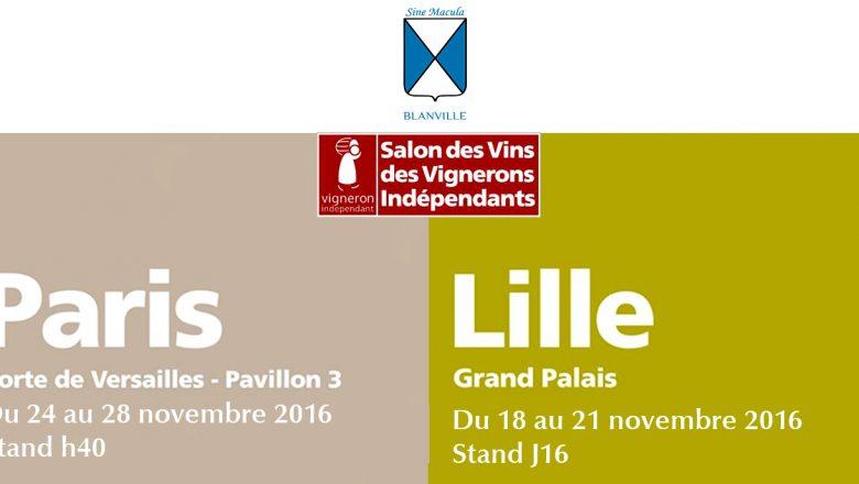 Nous serons aux salons des vins des vignerons ind pendants - Salon des vignerons independants lille ...