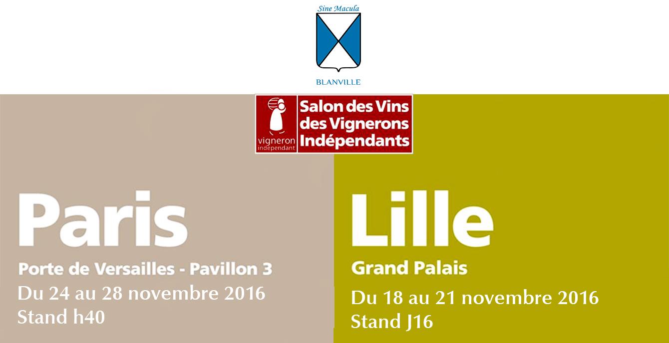 Nous serons aux salons des vins des vignerons ind pendants for Porte de champerret salon des vignerons