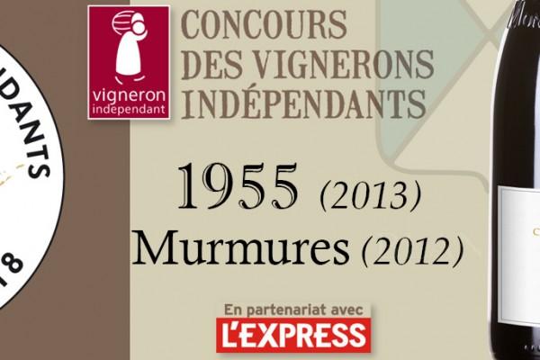 Concours Vignerons indépendants, une belle surprise : Murmures