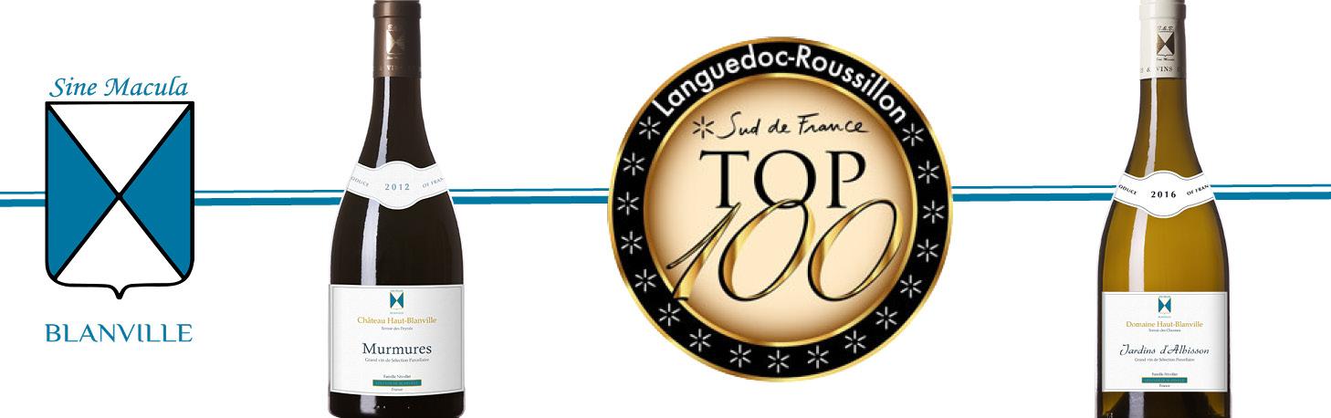 Concours Top 100 Sud de France 2018 - Awards